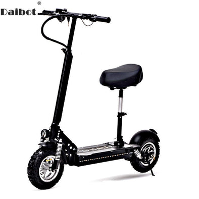 New Daibot Adult Electric Bicycle 11 Inch Single Motor 1000W 48V - BC&ACI