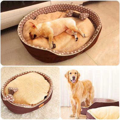 New Double sided available all seasons Big Size extra large dog bed - BC&ACI
