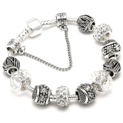 NewAAA Zircon Charm Bracelet for Women Fit Pandora - BC&ACI