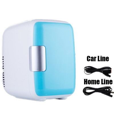 New Dual-Use 4L Home Car Use Refrigerators Ultra Quiet Low Noise - BC&ACI