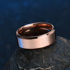ELSEMODE High Quality Titanium Stainless Steel Rings Black For Men Gold Silver Blue Multi Color