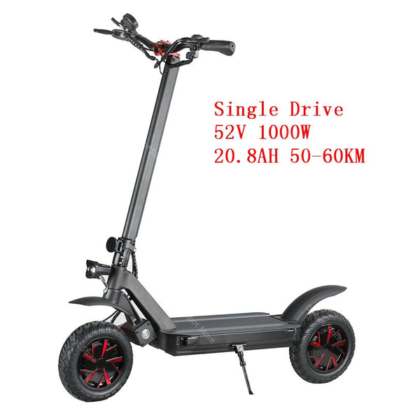 Ecorider E4-9 Adult Electric Scooter 60V Two Wheels Electric Scooters Dual Motor 3600W 70KM/H Foldable Electric Kick Scooter - BC&ACI