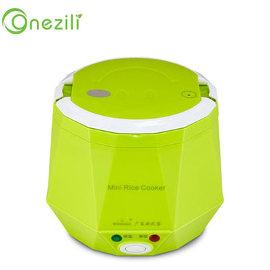 Electric Rice Cooker 12V 24V 220V for Car/Truck/Home Multi-function 3 Cups Mini Lunch box - BC&ACI