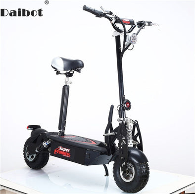 Electric Scooter Adults 10 Inch 2 Wheels Electric Scooters 1500W 48V Folding Electric Off Road Skateboard - BC&ACI