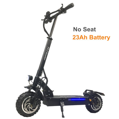 FLJ T113 60V/3200W Dual Motor Electric Scooter with most Strong power Dual engines 11inch Off Road Tire LG battery Kick scooters - BC&ACI