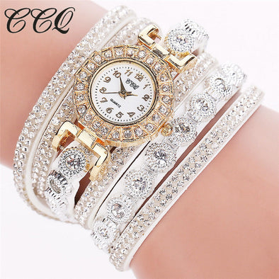 Fashion Women Watch Bracelet Watch limited time promotion Free shipping Women  Casual