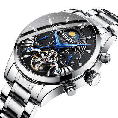 GUANQIN automatic/mechanical/luxury watch men reloj hombre clock men's/mens