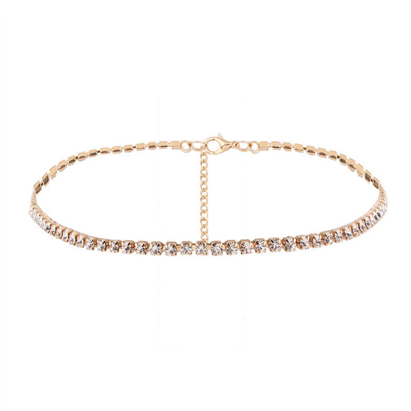 New H:HYDE Fashion Jewelry Accessories Luxury Rhinestone Choker Necklace for Women - BC&ACI