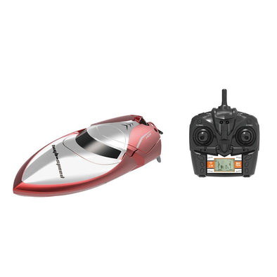 New Skytech H106 Speed Boat 2.4GHz 4CH RC Remote Control High Speed Boat Racing with LCD Display - BC&ACI