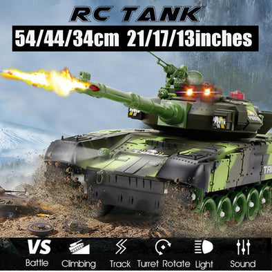 New 54/44/33CM Super RC tank charger battle launch - BC&ACI