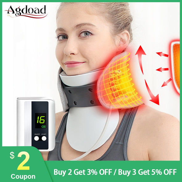 New Adjustable Medical Neck Cervical Traction Device - BC&ACI
