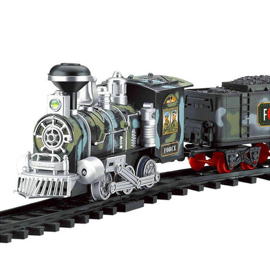 New Classic Electric Dynamic Steam RC Train Train Set - BC&ACI