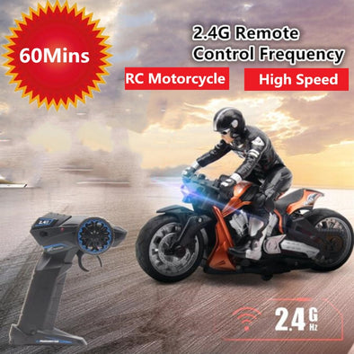 New RC Stunt Motorcycle - BC&ACI