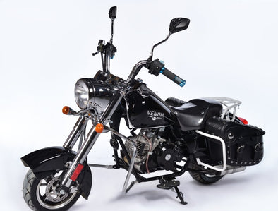 Venom 50cc FatBoy Mini Chopper - Automatic