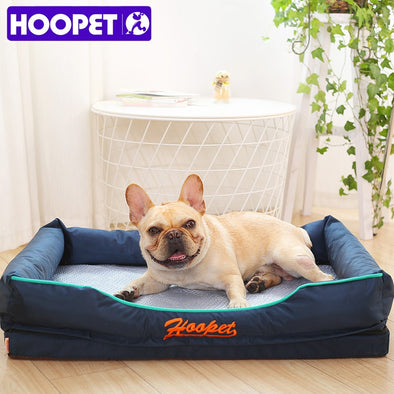 HOOPET Pet Doghouse Summer Dual-use Dog Bed Sofa Mat Removable Cool Good Quality