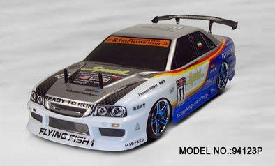 HSP 94123 Pro 1/10th scale 4WD electric on road drifting car p2 - BC&ACI
