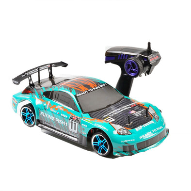 HSP RACING RC CARS FLYING FISH 94103PRO 1/10 SCALE 4WD ON ROAD ELECTRIC POWER BRUSHLESS RALLY RACING RC CAR READY TO RUN - BC&ACI