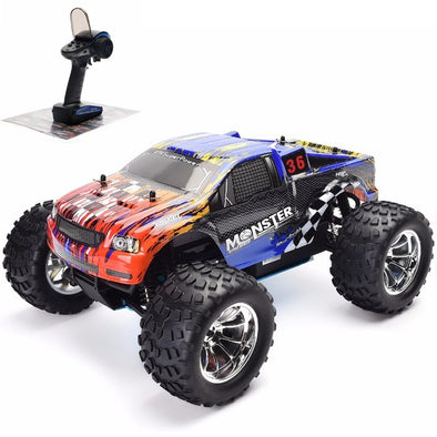 New HSP RC Car 1:10 Scale Two Speed Off Road Monster Truck Nitro Gas Power 4wd Remote Control Car - BC&ACI