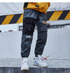 Aelfric Eden 2018 Pockets Cargo Pants Men Color Patchwork Casual Jogger Fashion Tactical Trousers Tide Harajuku Streetwear KJ334