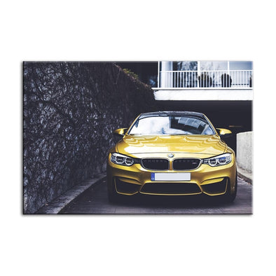 New Modern Hd Print Home Decoration Canvas BMW Car Painting Wall Art - BC&ACI