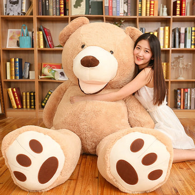 New Huge Size 200cm American Giant Bear Skin  plush toy Teddy Bear - BC&ACI
