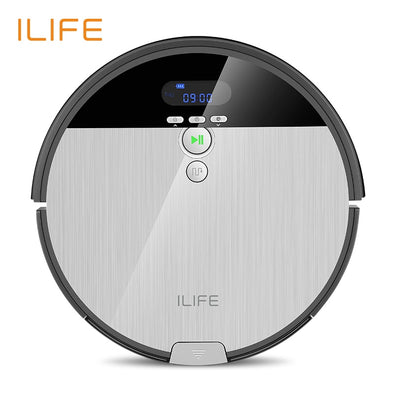 ILIFE V8s Robot Vacuum Cleaner Sweep&Wet Mop Navigation Planned Cleaning 0.75L - BC&ACI