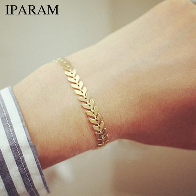 IPARAM Personality Women Jewelry Shell Slices Pendant Femme Accessories Bracelet & Bangle