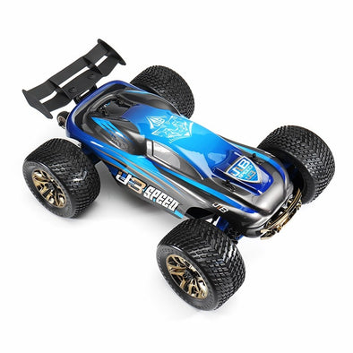 JLB Racing 1/10 J3 Speed 120A 4WD 2.4GHZ Truggy RC Car RTR  with Transmitter Vehicle Toy Outdood RC Car VS JBL11101 21101 - BC&ACI