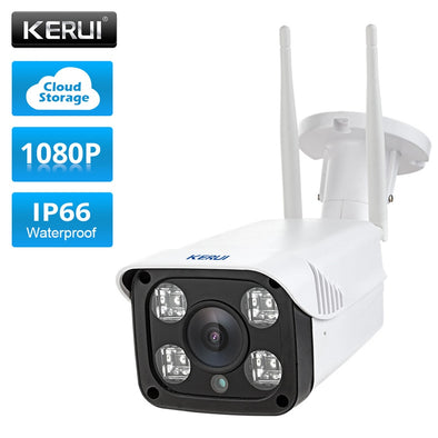 KERUI  Full HD 1080P Waterproof WiFi IP Camera Surveillance Outdoor