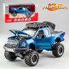 KIDAMI 1:32 Ford Raptor F150 Big Wheel MINIAUTO Alloy Diecast Car Model Toys For Children's Gifts машинки - BC&ACI