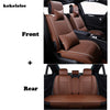New KOKOLOLEE Luxury Leather Car Seat Covers Universal - BC&ACI