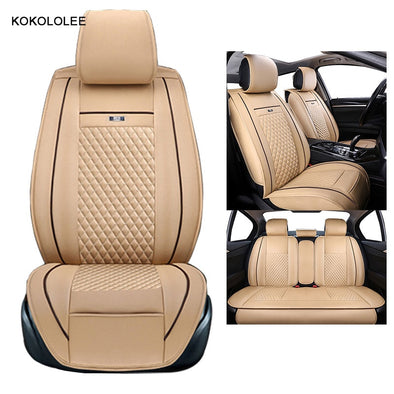 KOKOLOLEE car seat covers set for lada granta renault logan peugeot 206 - BC&ACI