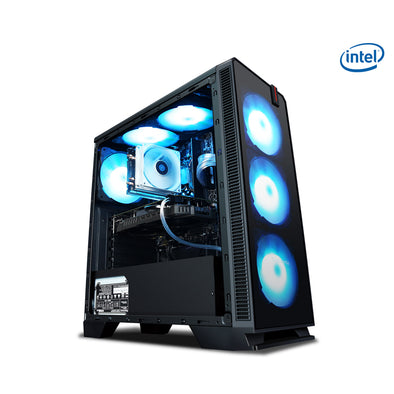 New KOTIN R9 Intel Core i5 9600K Hexa Core 3.7GHz Gaming Desktop PC DIY - BC&ACI