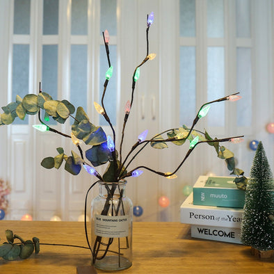 LED Orchid Bouquet Lights Festive Party Decoration Battery Powered Light - BC&ACI