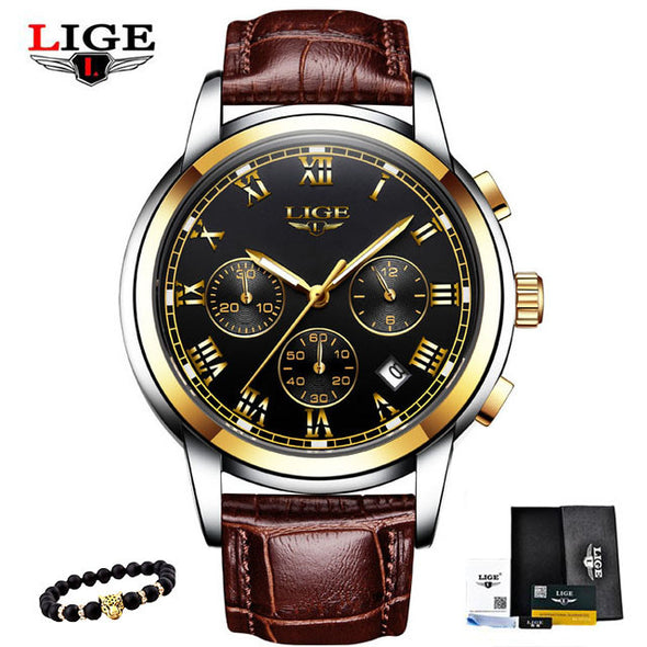 New High-Quality HAIQIN Men's Military Watch - BC&ACI
