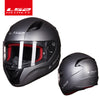 New full face motorcycle helmet - BC&ACI
