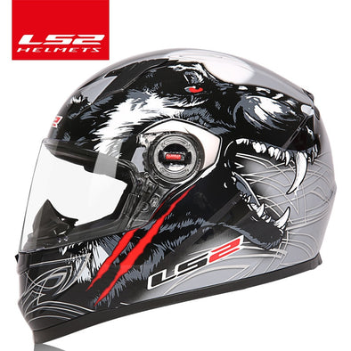full face motorcycle helmet - BC&ACI