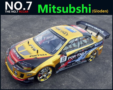 New Large RC Car 1:10 High Speed Racing Car For Mitsubishi Championship 2.4G 4WD Radio Control Sport Drift Racing - BC&ACI