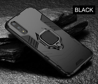 Luxury Armor Ring Case For Huawei P20 Pro P20 Phone Case Cover For Huawei P20 Lite Anti-Fall
