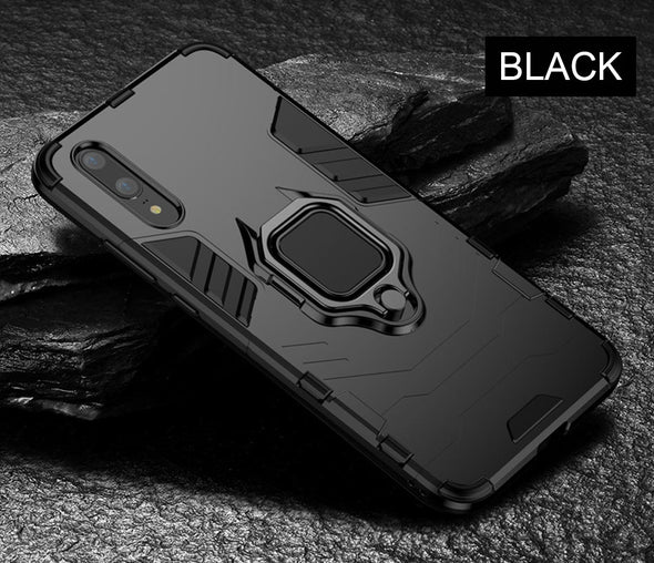 New Luxury Armor Ring Case For Huawei P20 Pro P20 Phone Case Cover - BC&ACI