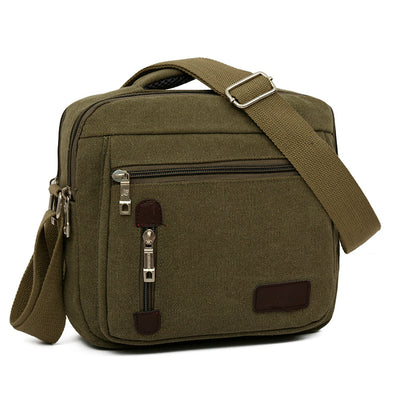New High Quality Men's Canvas Crossbody Messenger Bag - BC&ACI