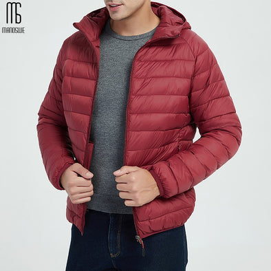 Winter Men's Thin Section Down Jacket Cotton Casual - BC&ACI