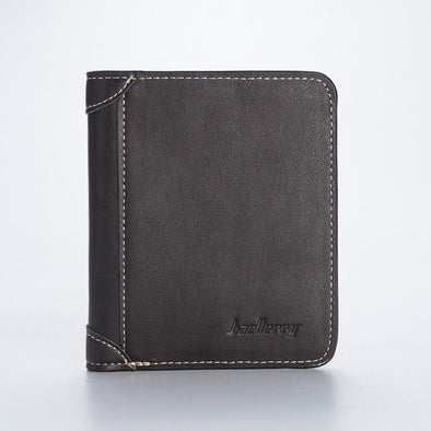 New Mens Casual Wallets Leather Short Foldable Wallet 17 Credit Cards Holder - BC&ACI