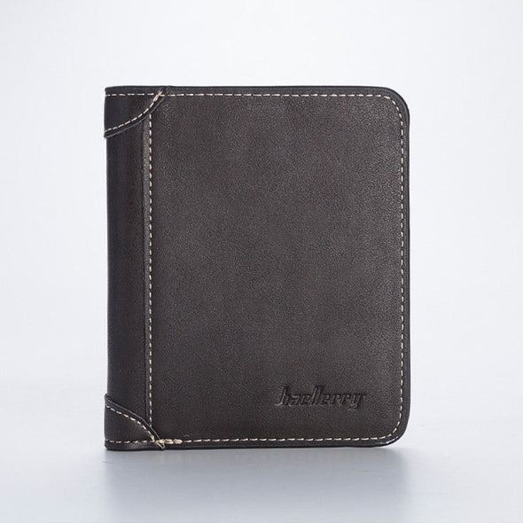 New Mens Casual Wallets Leather Short Foldable 17 Credit Cards Holder - BC&ACI