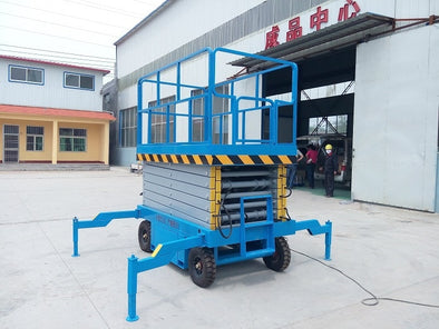 New Mobile Hydraulic Scissor Lift Platform Well - BC&ACI