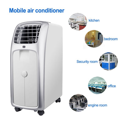 Mobile air conditioner Single cold household air-conditioning machine vertical dehumidification portable equipment 220V