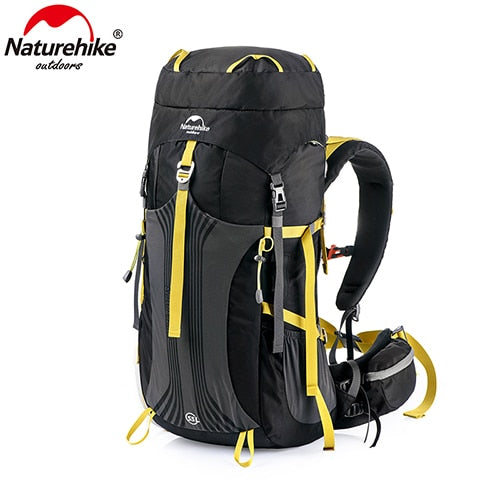 New Naturehike 55L 65L Backpack Professional Hiking Bag with Suspension System - BC&ACI