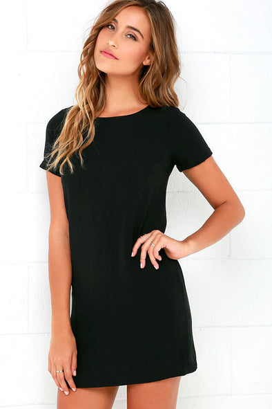 New 2019 Sexy Shift Dress Office Ladies Workwear Plus Size Elegant White Dress Summer Short Sleeve Bodycon Casual Short Dress