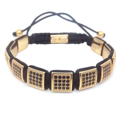 New European & American fashion Women Square Bracelets - BC&ACI
