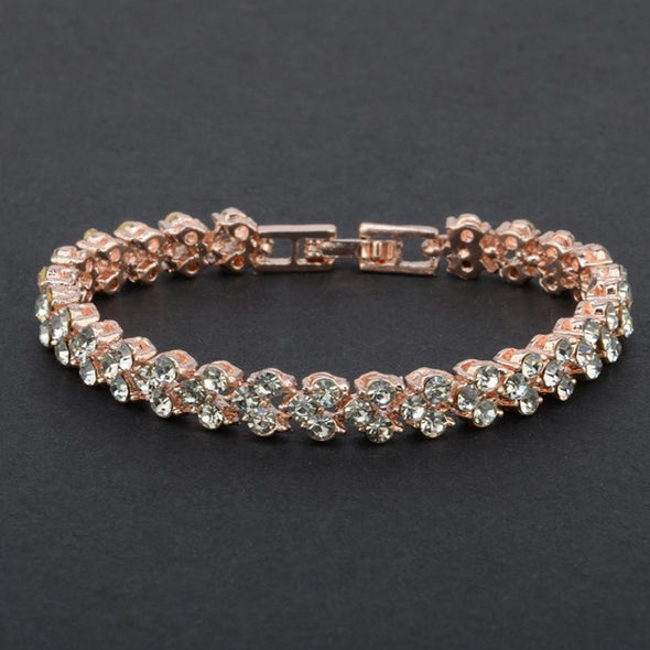 New Fashion Roman Style Woman Bracelet Wristband Crystal Bracelets - BC&ACI